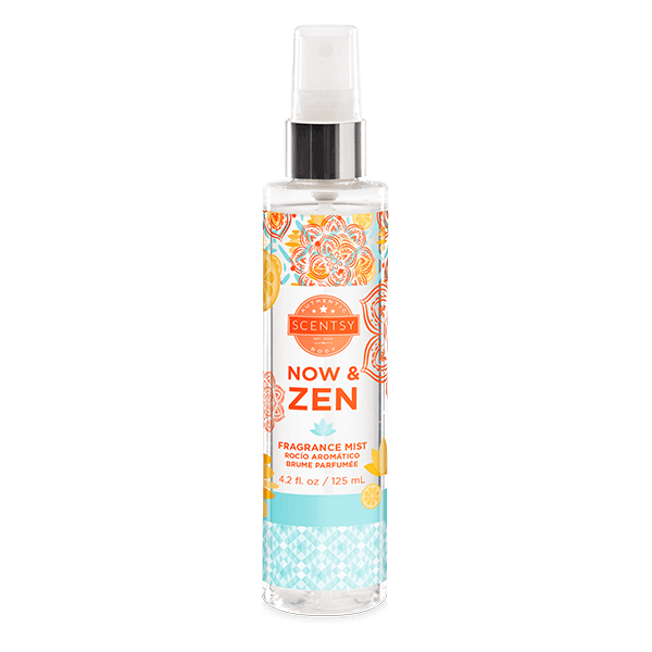 NOW AND ZEN SCENTSY BODY FRAGRANCE MIST