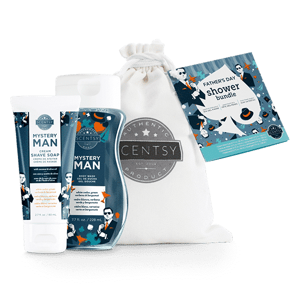 MYSTERY MAN SCENTSY FATHER'S DAY SHOWER BUNDLE