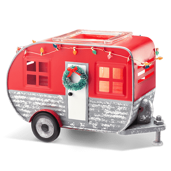 CHRISTMAS CAMPER SCENTSY WARMER | CHRISTMAS CAMPER RV SCENTSY WARMER | NOVEMBER 2019 | Shop Scentsy | Incandescent.Scentsy.us
