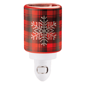 FROSTED FLANNEL SCENTSY MINI WARMER