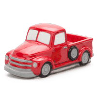 RED RETRO TRUCK SCENTSY WARMER ONLY