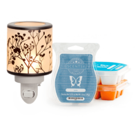 SCENTSY SYSTEM - $20 WARMER / NIGHTLIGHT WARMER & 3 BARS - COMBINE & SAVE