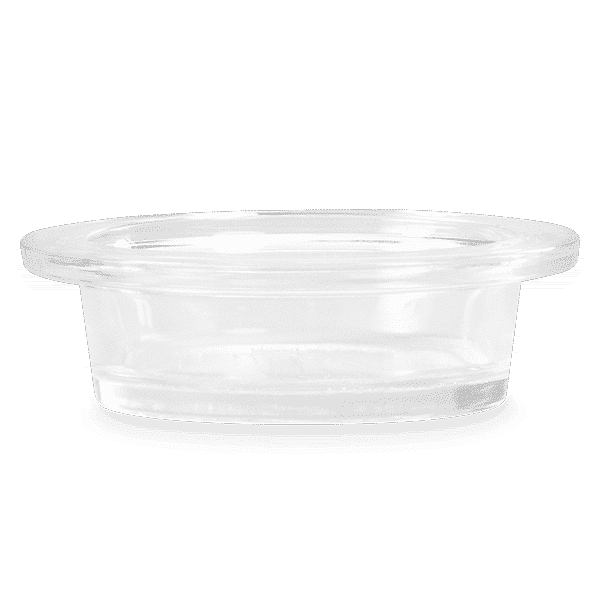 MEDIUM CLEAR REPLACEMENT GLASS DISH