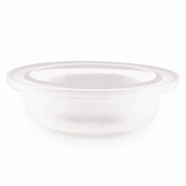 MEDIUM FROSTED GLASS WITH LOGO REPLACEMENT SCENTSY DISH