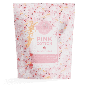 PINK COTTON SCENTSY BATH SOAK