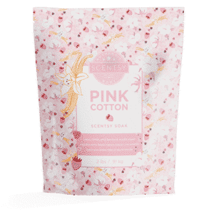 PINK COTTON SCENTSY BATH SOAK