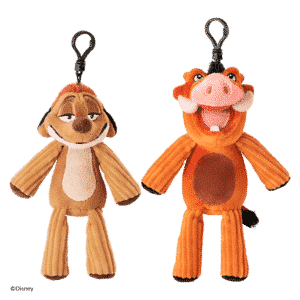 TIMON & PUMBAA SCENTSY LION KING BUDDY CLIPS