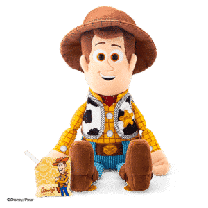 WOODY SCENTSY BUDDY & SCENT PAK