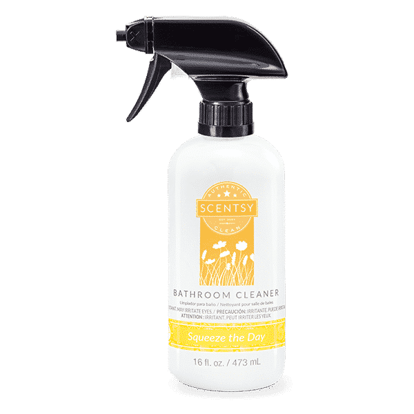 squeeze the day bathroom cleaner