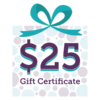 SCENTSY 25 GIFT CERTIFICATE